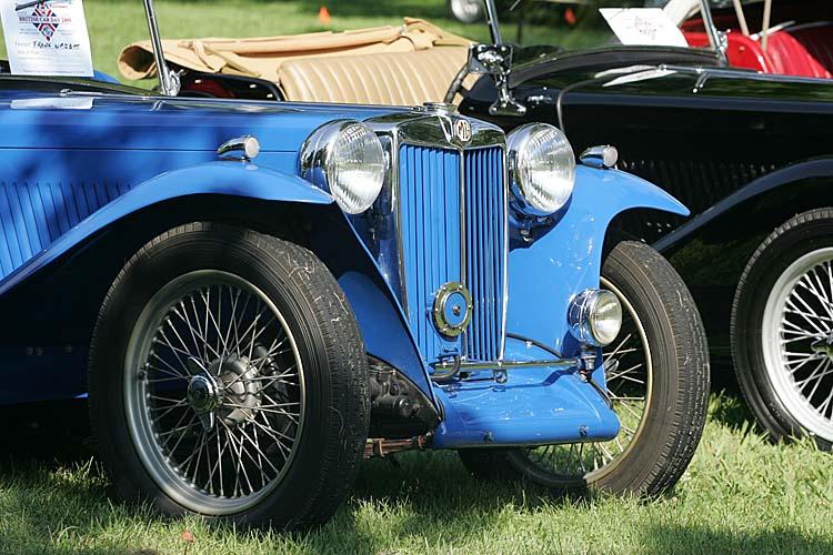British Car Day - Mg car show